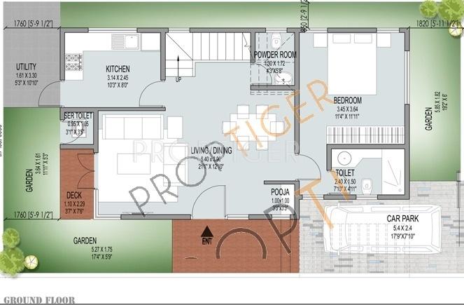 JS Lotus (3BHK+4T (2,068 sq ft) + Pooja Room 2068 sq ft)
