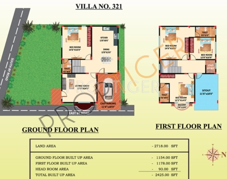 Himagiri Meadows (4BHK+4T (2,425 sq ft) 2425 sq ft)