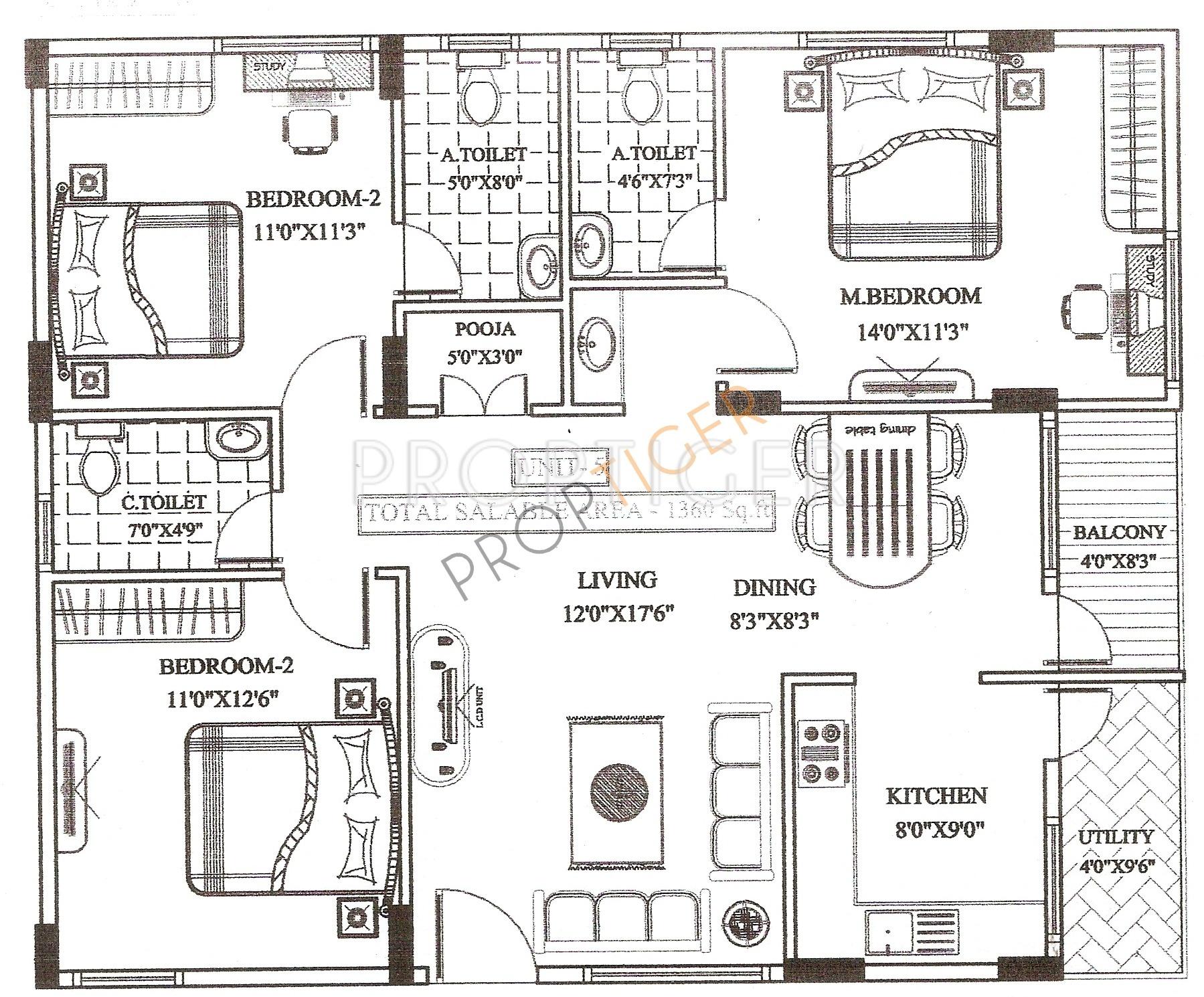 Ultimate ultimate comforts in yelahanka bangalore price for Ultimate floor plans