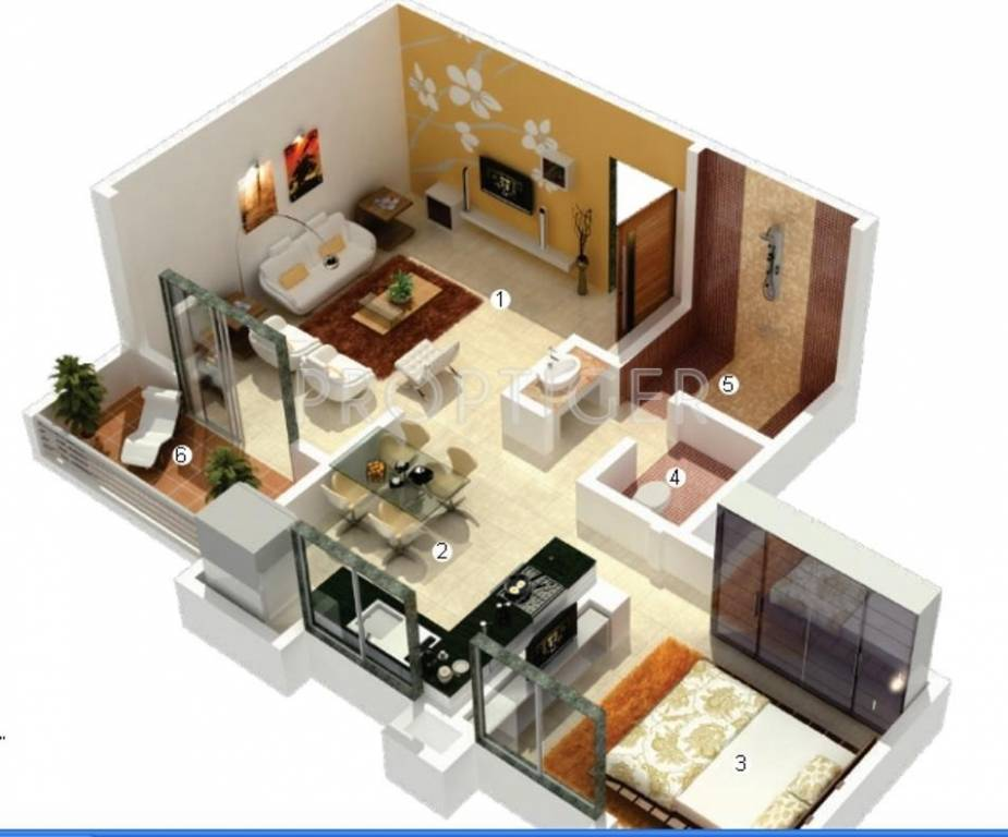 780 sq ft 1 bhk 1t apartment for sale in vascon and for T furniture wagholi