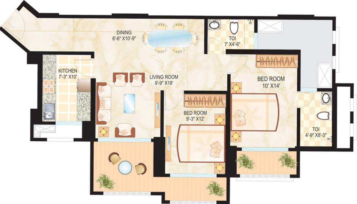Dosti Ambrosia In Wadala Mumbai Price Location Map Floor Plan Reviews Proptiger Com