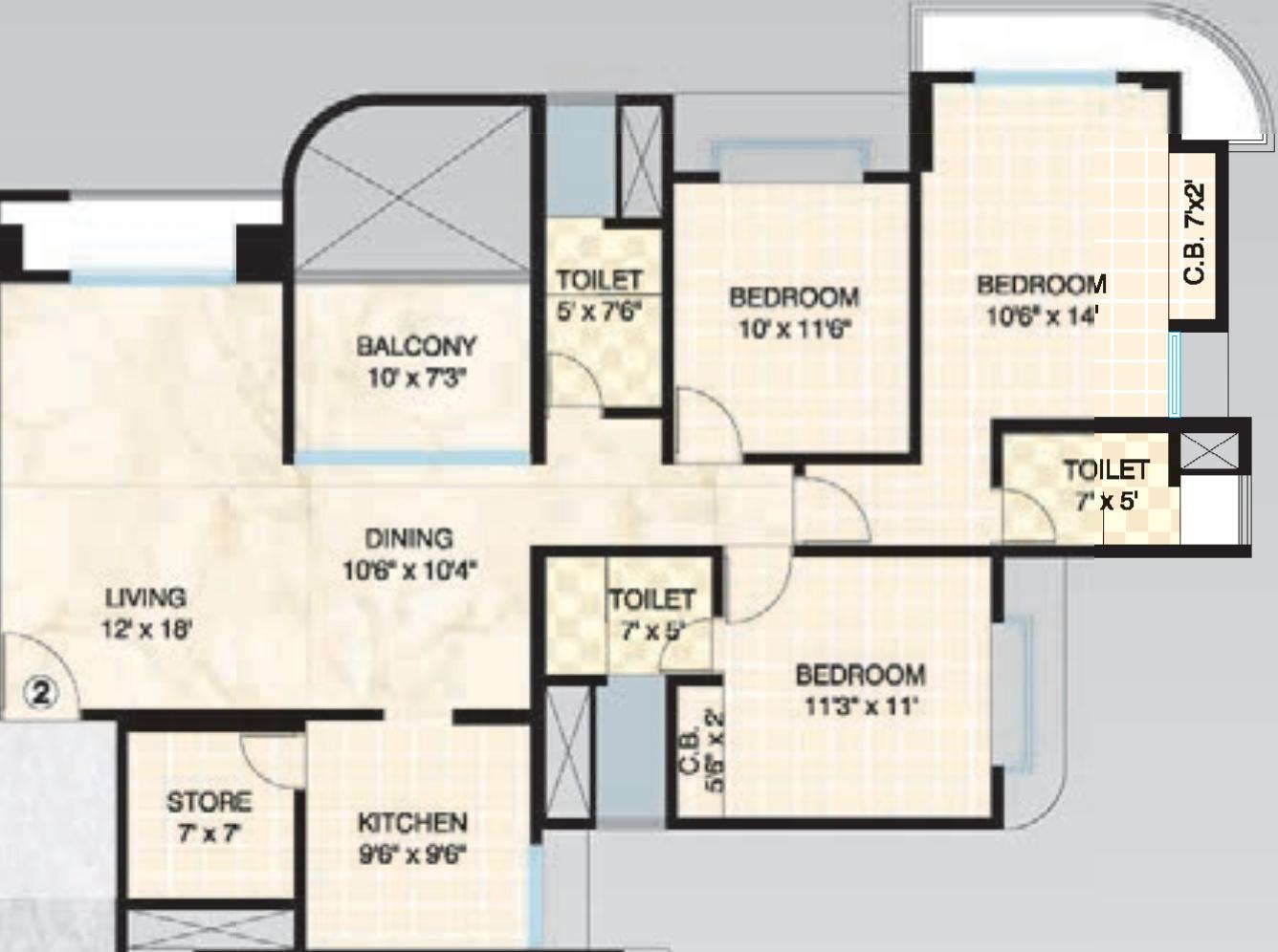 Dosti Imperia In Thane West Mumbai Price Location Map Floor Plan Reviews Proptiger Com