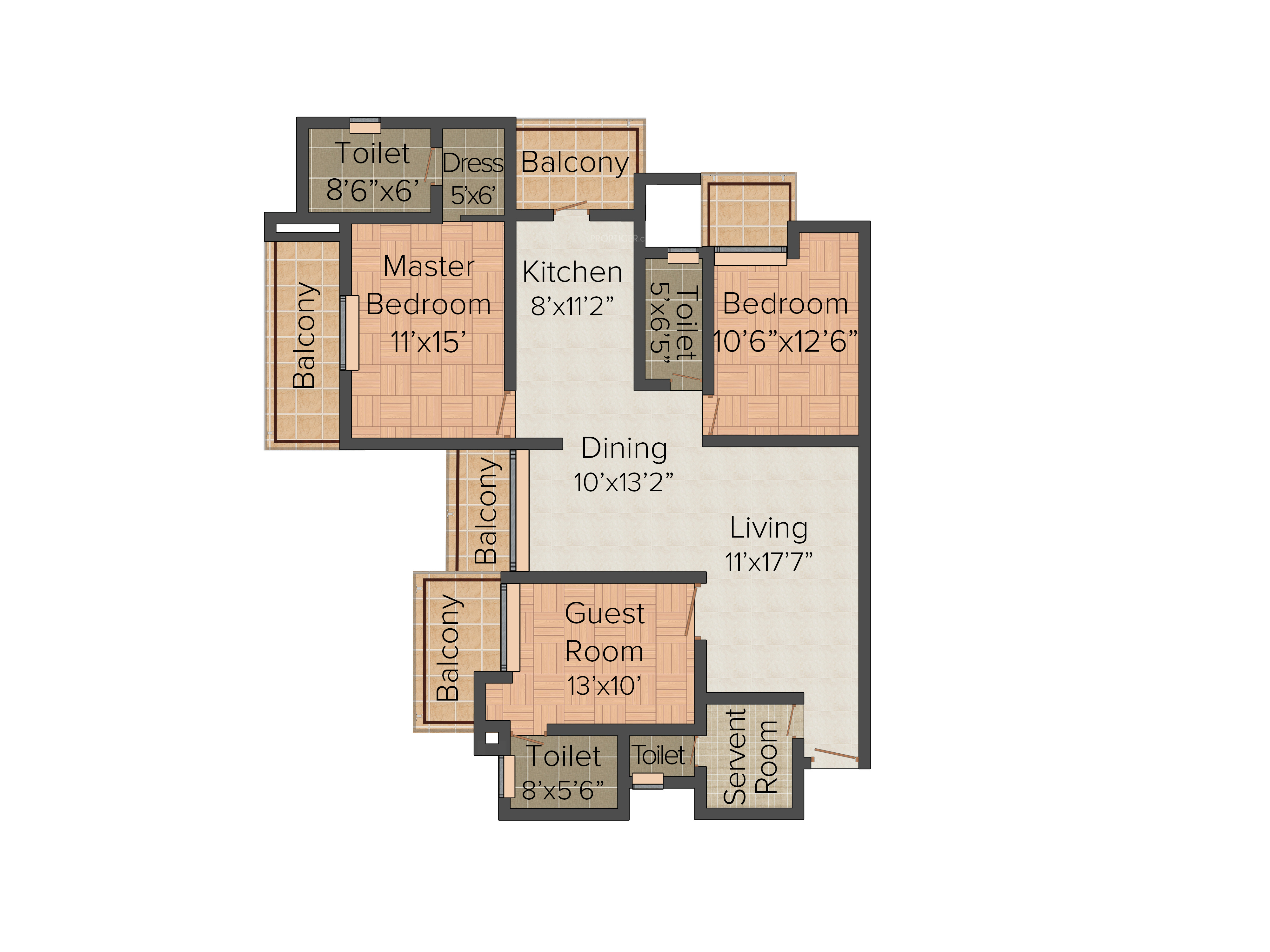 Amrapali Sapphire in Sector 45, Noida - Price, Location Map, Floor ...