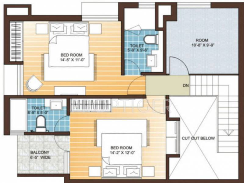 Vedic Sanjeeva Gardens (3BHK+3T (2,070 sq ft) 2070 sq ft)