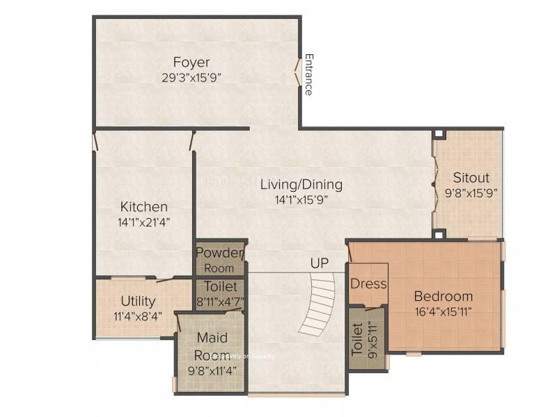 Prestige White Meadows (4BHK+6T (7,002 sq ft) + Servant Room 7002 sq ft)