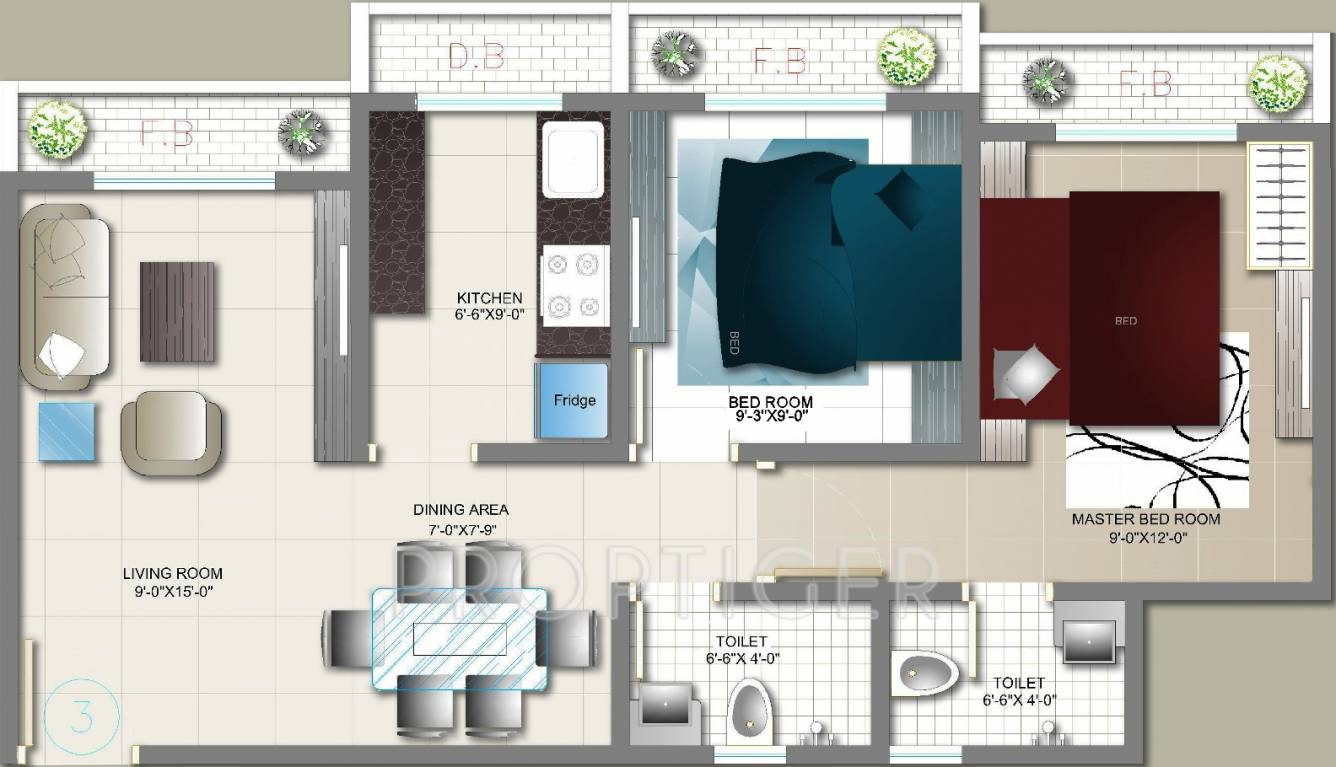 720 sq ft 2 bhk 2t apartment for sale in mohak city virar for 720 sq ft apartment floor plan