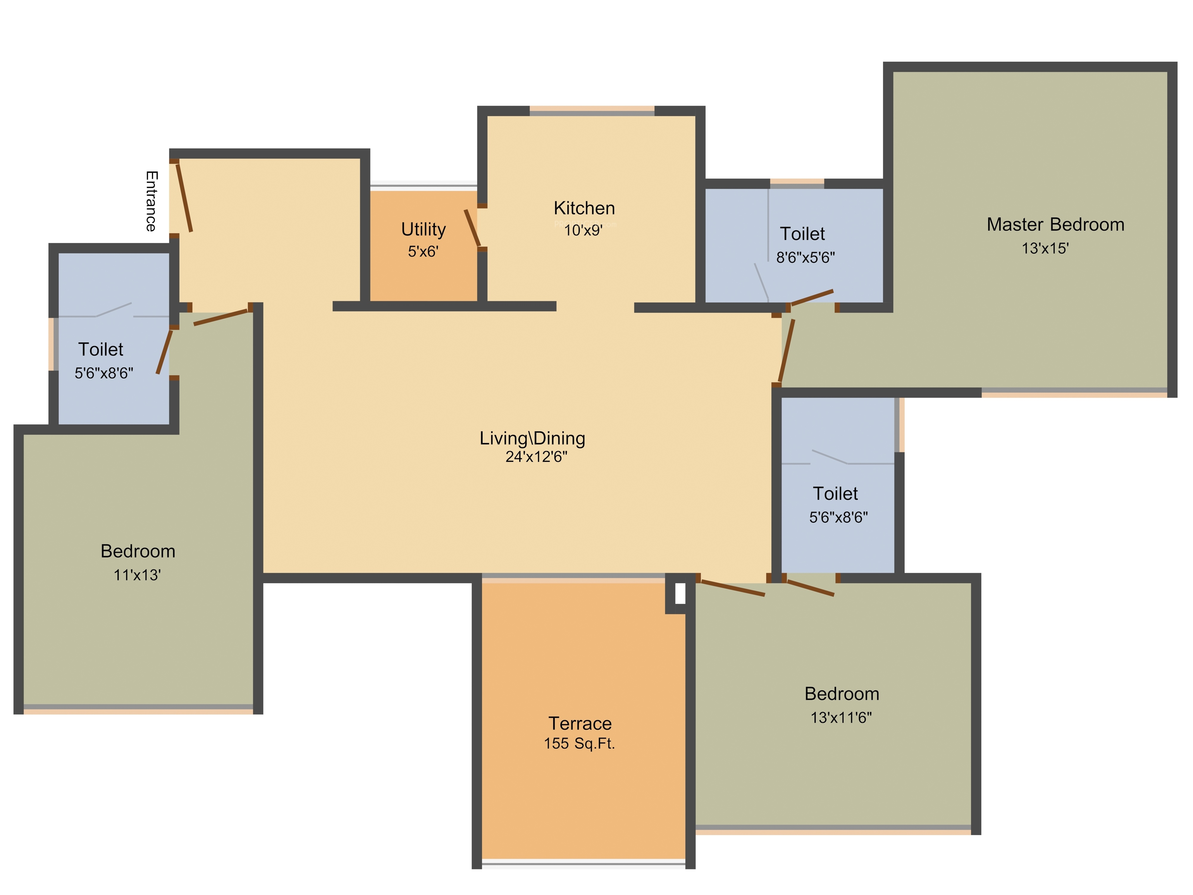 Marvel Fria In Wagholi Pune Price Location Map Floor