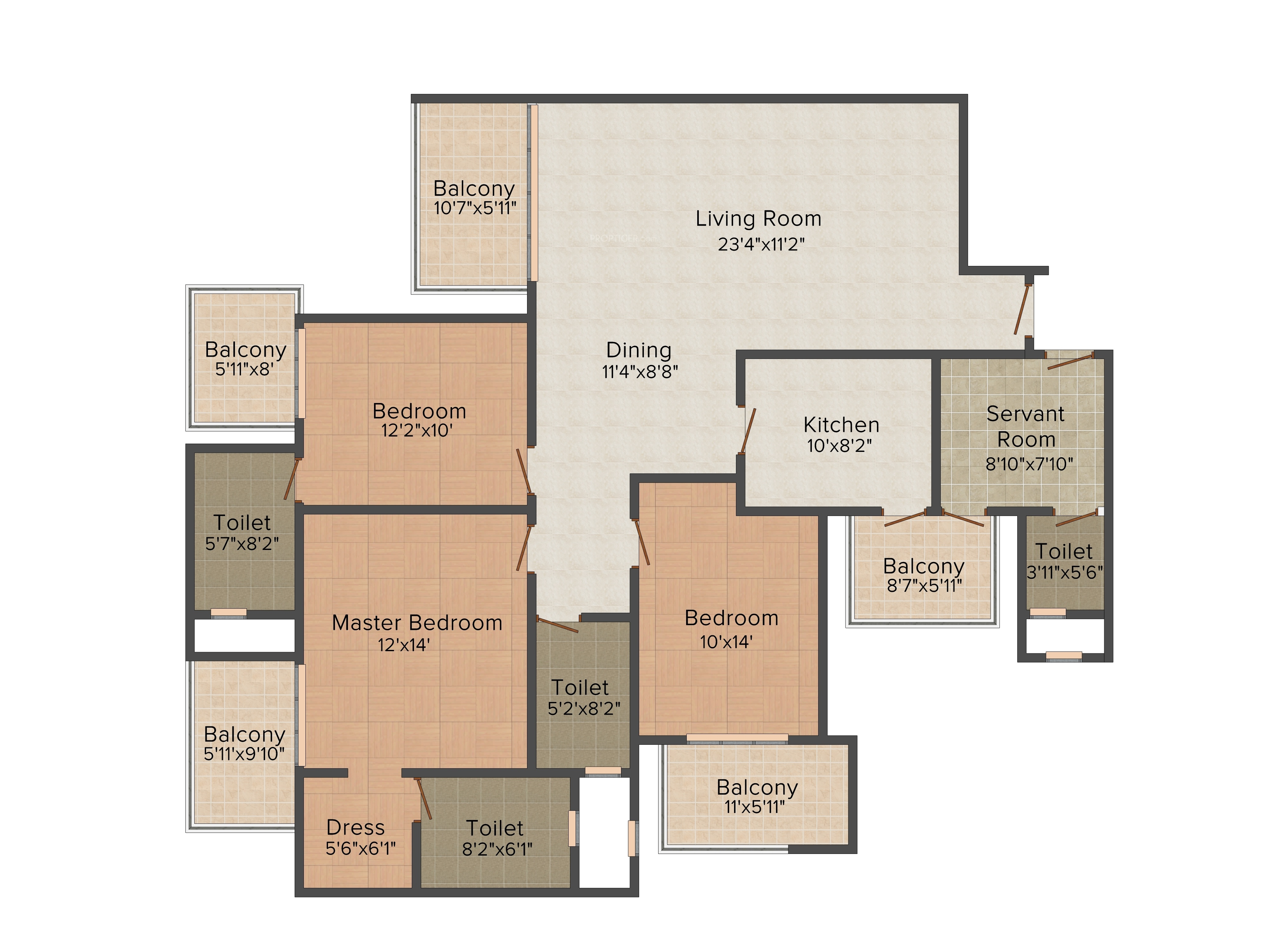 Dlf The Primus In Sector 82a Gurgaon Price Location Map Floor Plan Reviews Proptiger Com