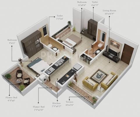 900 sq ft 2 bhk 2t apartment for sale in gurukrupa guru for 900 square feet apartment