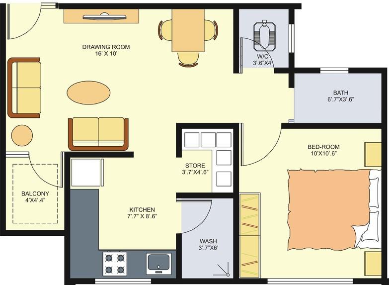 Parshwanath om residency by parshwanath realty in zundal for X2 residency floor plan