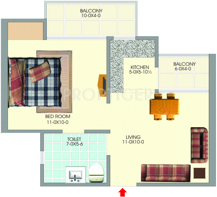 550 sq ft 1 bhk 1t apartment for sale in the antriksh group kanball 3g sector 77 noida. Black Bedroom Furniture Sets. Home Design Ideas