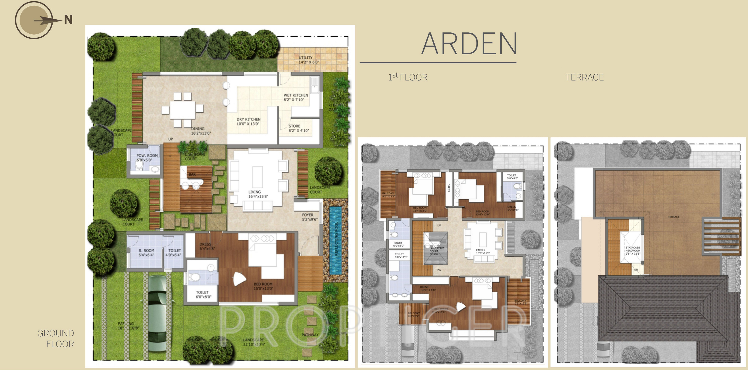 3418 Sq Ft 4 BHK 5T Villa For Sale In Azven Realty Breathe