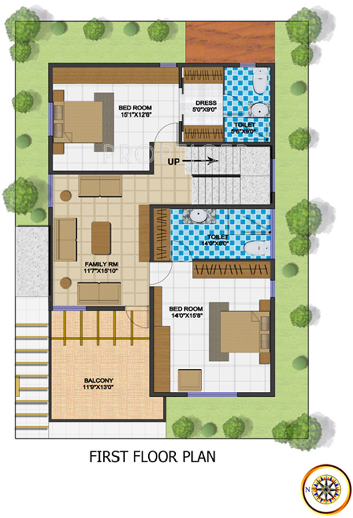 2700 sq ft 4 bhk 4t villa for sale in neeraja builders for 2700 square foot house cost