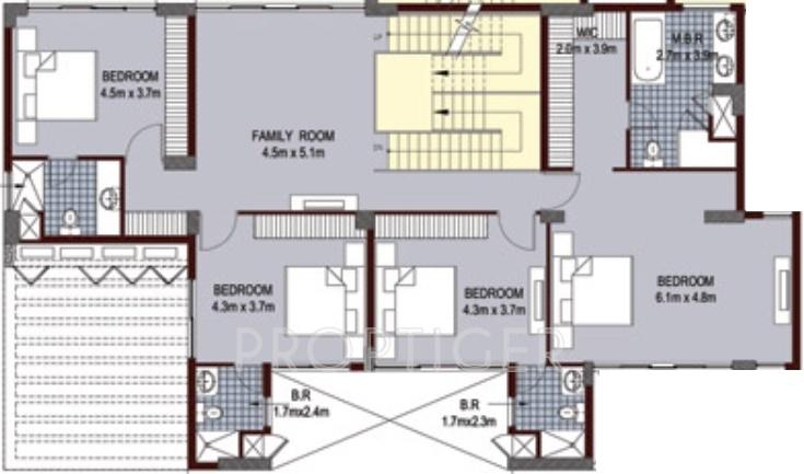 Ansal Aquapolis In Crossing Republik Ghaziabad Price: 5 bhk duplex floor plan