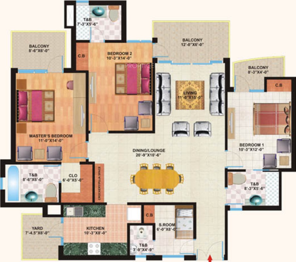 Mapsko Casa Bella In Sector 82 Gurgaon Price Location