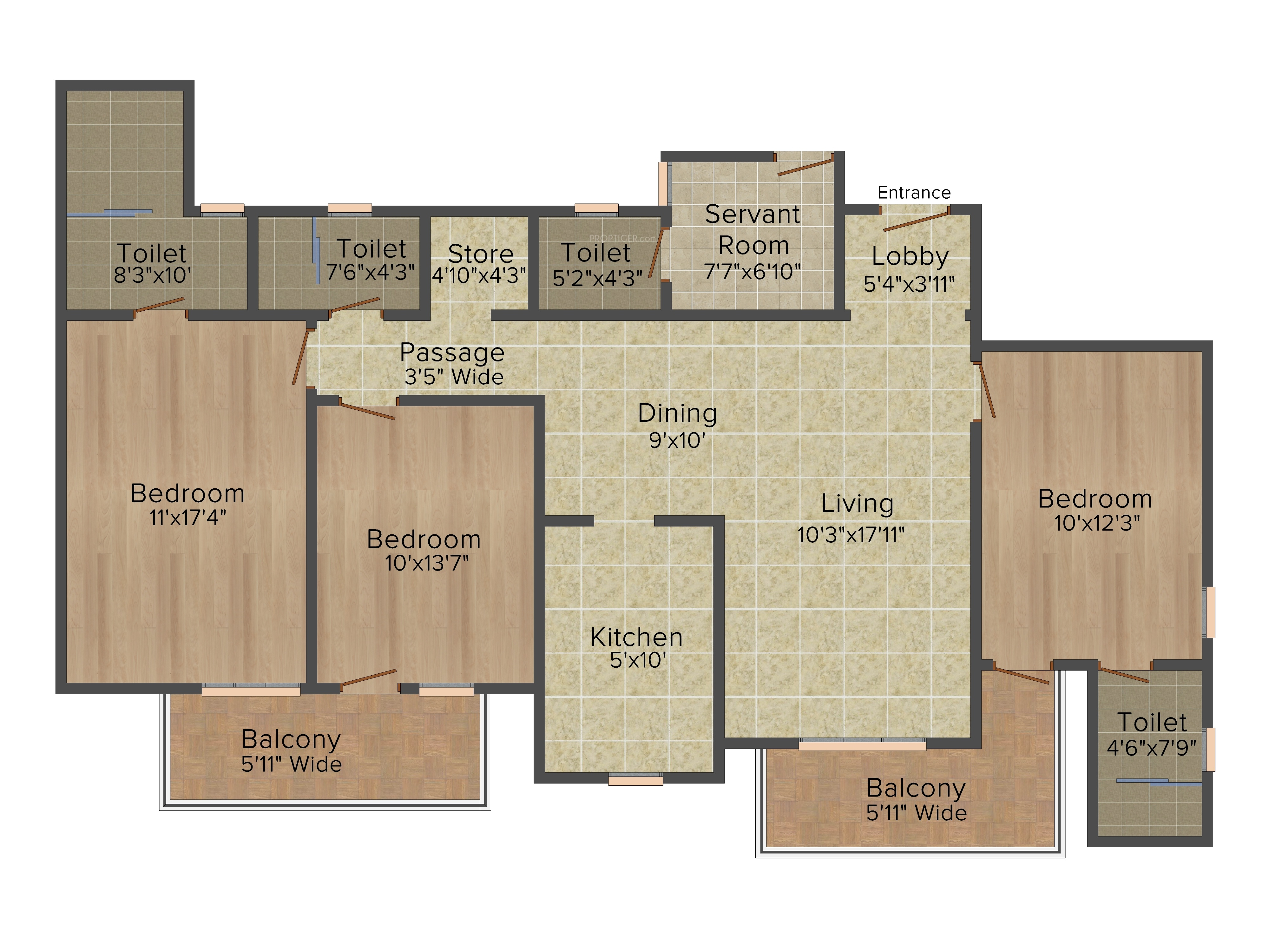 DLF Express Greens in Sector 1 Manesar, Gurgaon - Price, Location