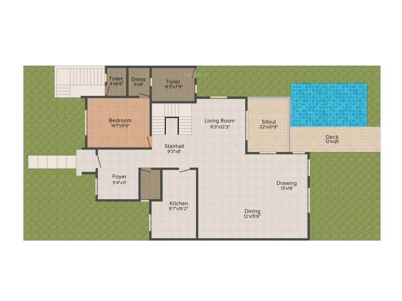 Vipul Tatvam Villas (4BHK+5T (4,000 sq ft)   Servant Room 4000 sq ft)