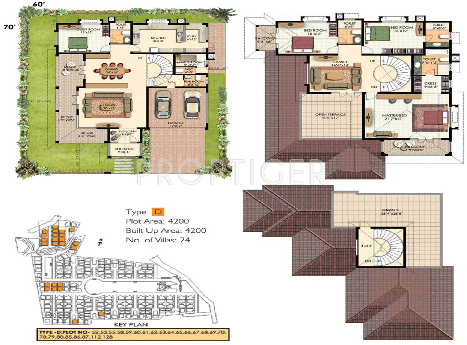 4200 sq ft 4 bhk 5t villa for sale in prestige group oasis for 4200 sq ft house plans