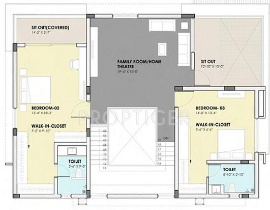 3769 sq ft 3 bhk 4t villa for sale in ashoka a la maison for Ashoka ala maison price
