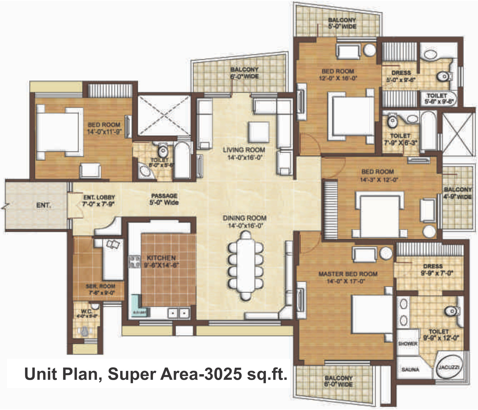 Omaxe the forest spa in sector 43 faridabad price for Salon floor plans free