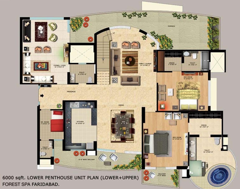 more photos - Spa Floor Plan
