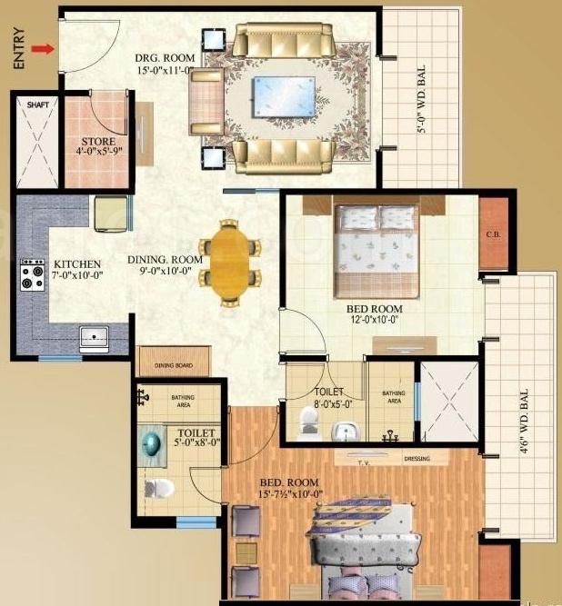 Macy S Herald Square Floor Plan: Mahagun Maple In Sector 50, Noida