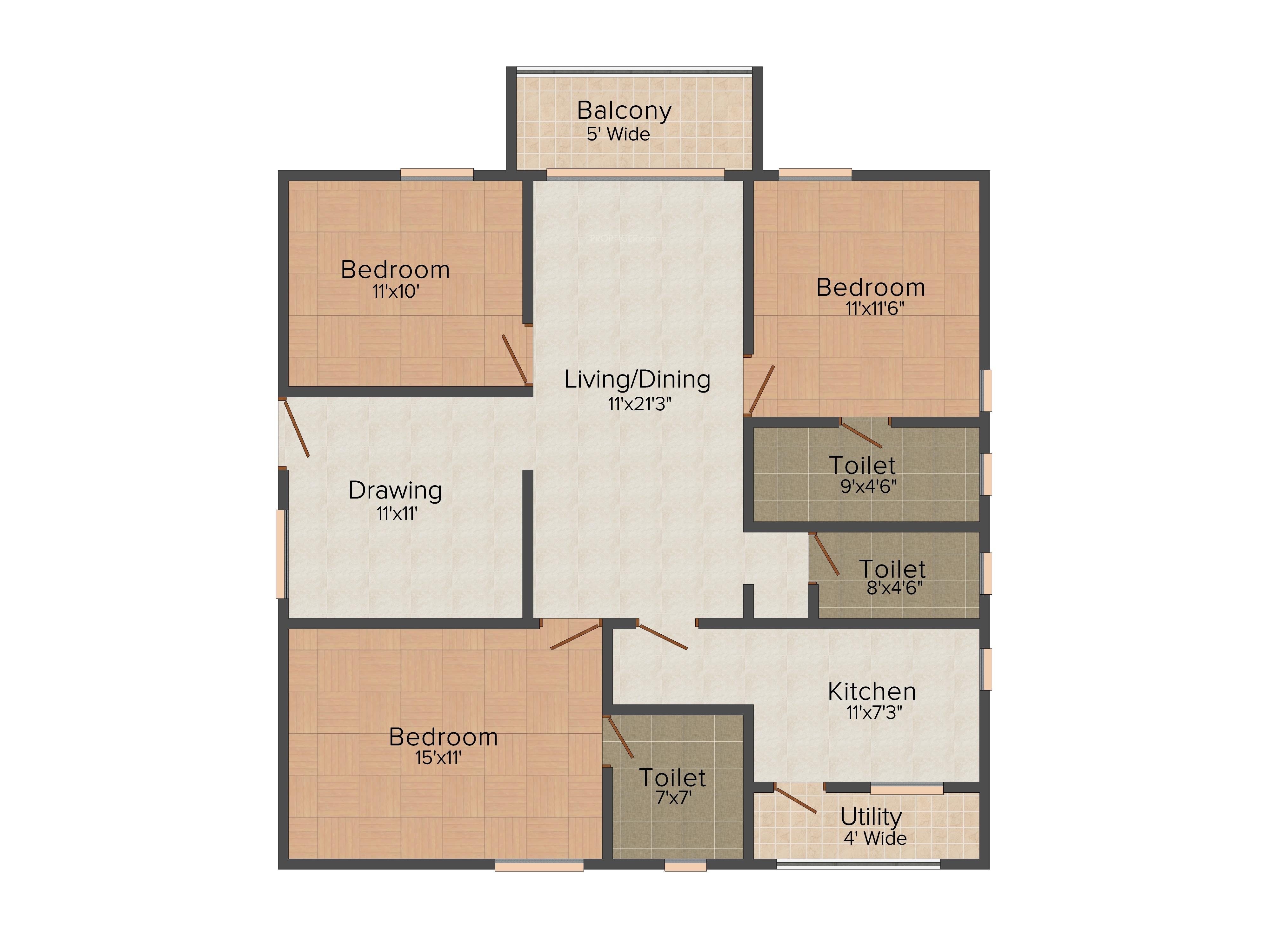 Aditya Empress Towers In Shaikpet Hyderabad Price Location Map Floor Plan Reviews Proptiger Com