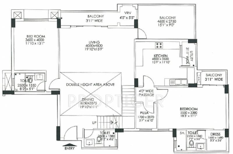 DLF Commanders Court (4BHK+5T (4,049 sq ft) + Study Room 4049 sq ft)