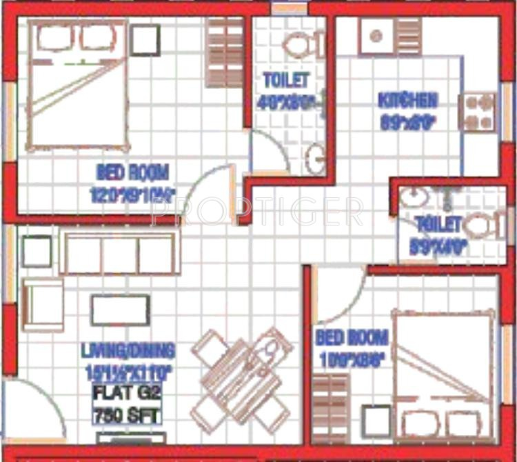 Home Design 750 Sq Ft