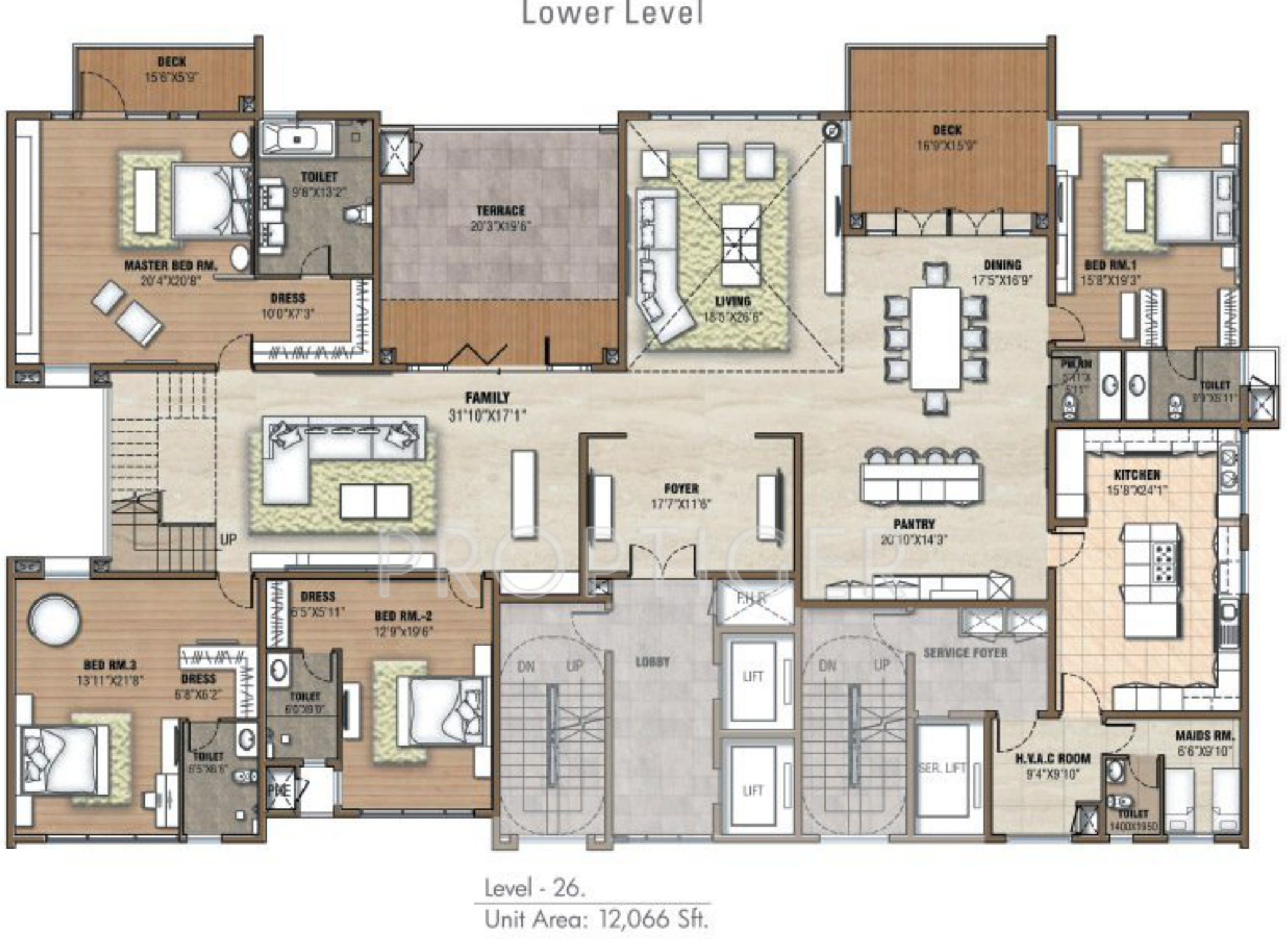 12066 sq ft 5 bhk 9t apartment for sale in prestige group for 5 bhk duplex floor plan