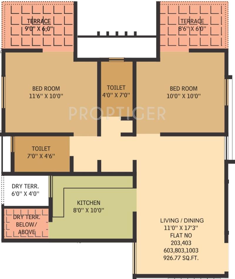 Gauree atlantica east in mundhwa pune price location for Floor plan creator for windows 7