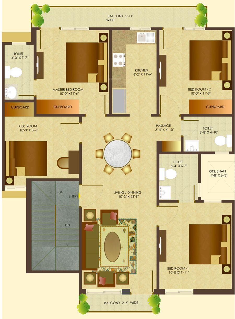 Sare Springview Floors In Lal Kuan Ghaziabad Price