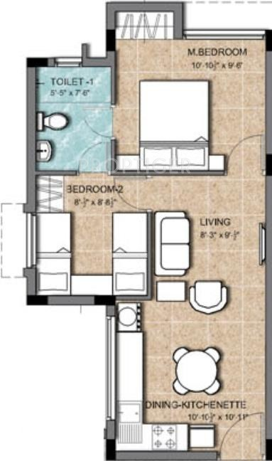 575 sq ft 2 bhk 1t apartment for sale in kg builders earth homes thalambur chennai. Black Bedroom Furniture Sets. Home Design Ideas