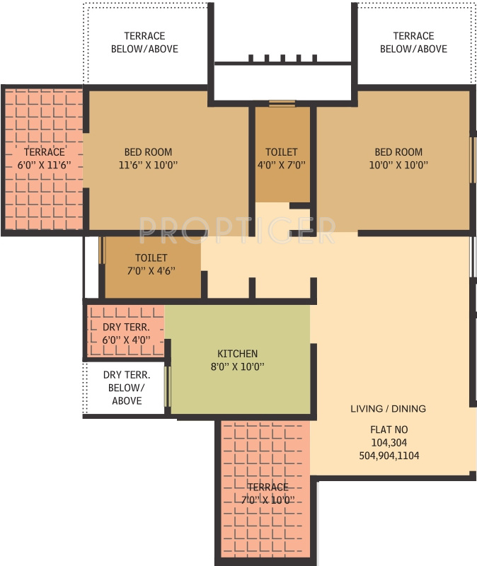 Gauree atlantica east in mundhwa pune price location for Floor plan creator windows 7