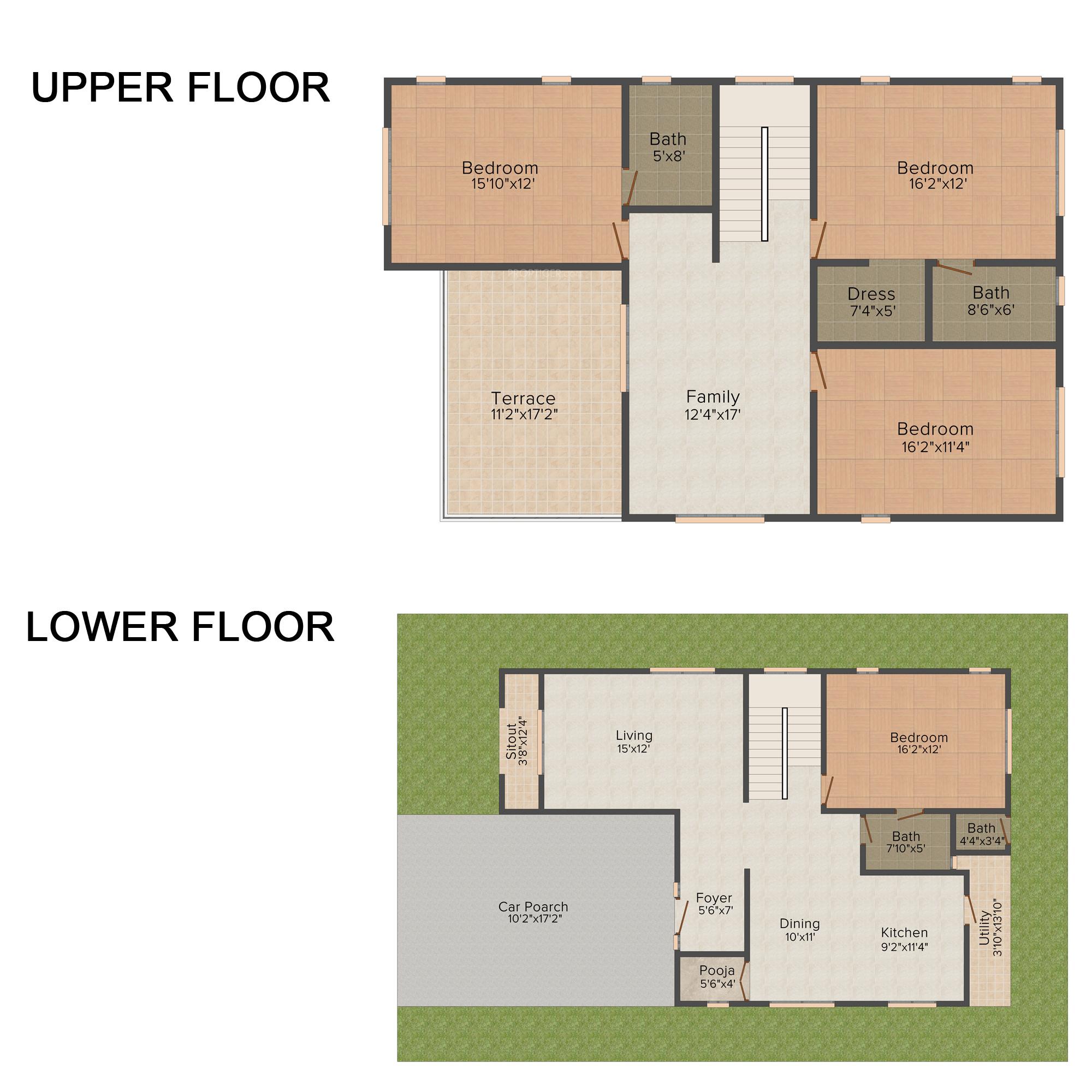 The Breakers Floor Plan Heritage County In Sarjapur Bangalore Price Location