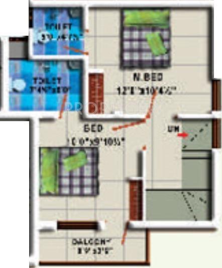 StepsStone Harine (3BHK+3T (1,100 sq ft) 1100 sq ft)