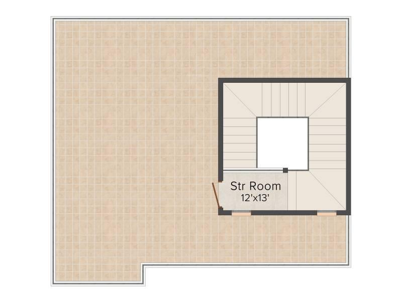 Prestige Glenwood (4BHK+5T (3,662 sq ft)   Servant Room 3662 sq ft)