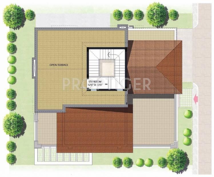 Prestige Glenwood (4BHK+5T (3,694 sq ft)   Servant Room 3694 sq ft)