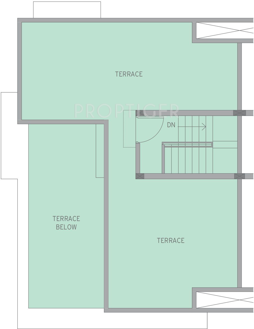 Pin twin bungalow floor plans on pinterest for Twin bungalow plans