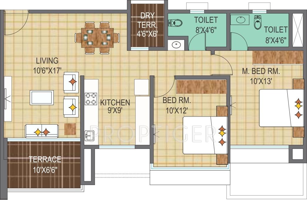 Pharande Woodsville in Chikhali, Pune - Price, Location Map, Floor ...