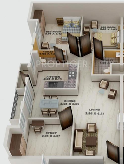 Blue print woodsville apartment in medavakkam chennai price more photos malvernweather Images