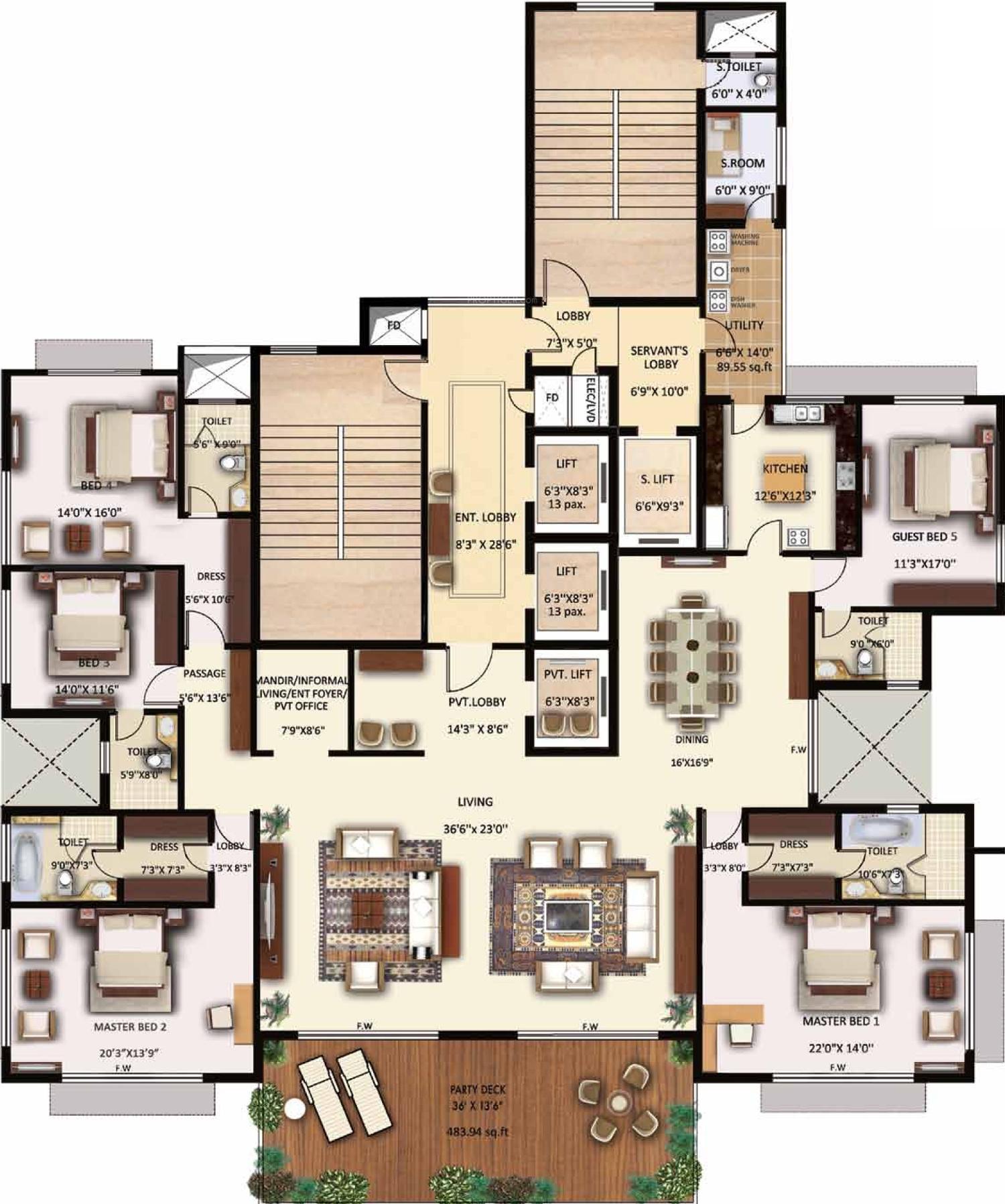 Neptune Lotus In Mulund West Mumbai Price Location Map Floor Plan Amp Reviews