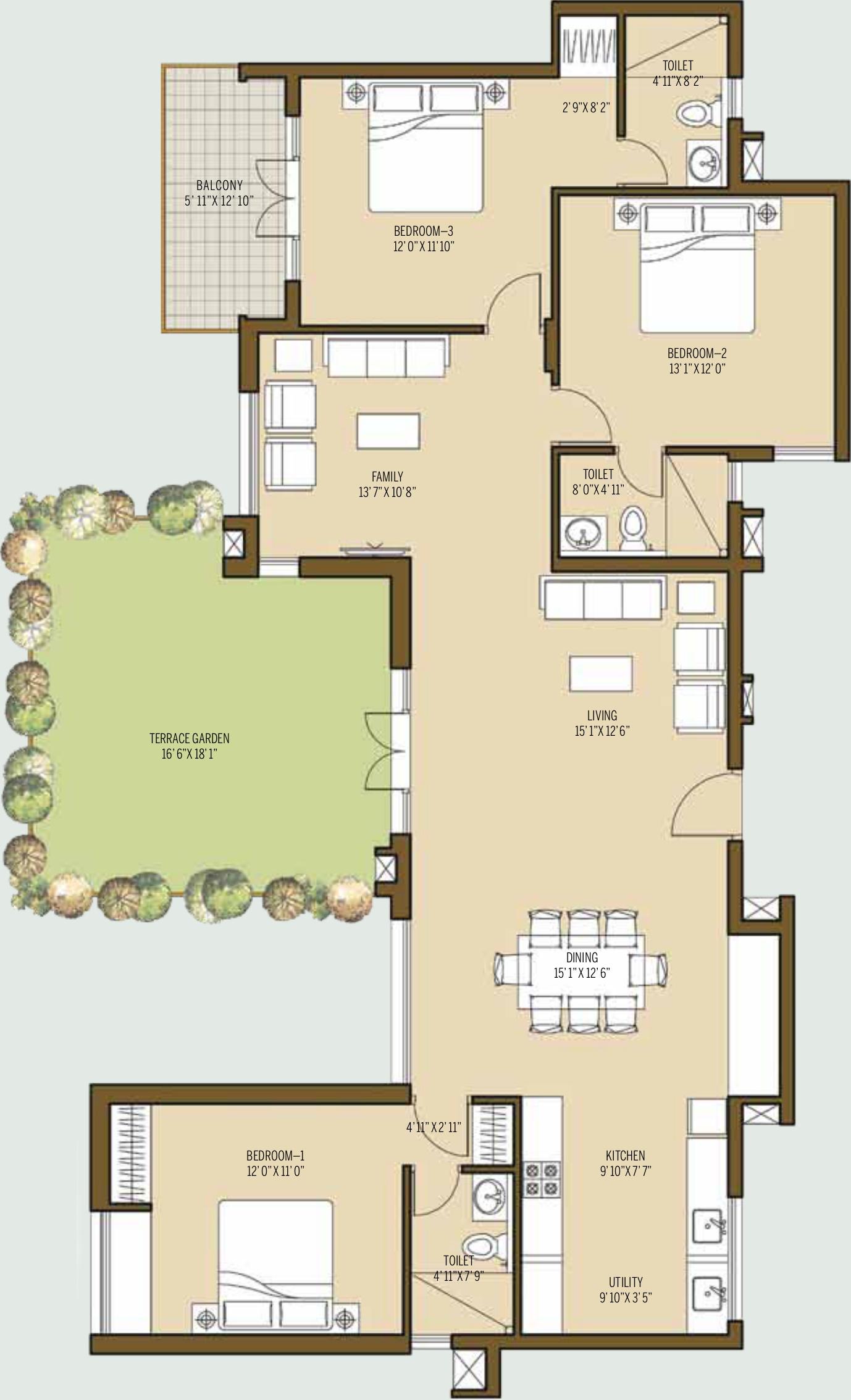 Good Malhar Terraces In Kumbalgodu Bangalore Price