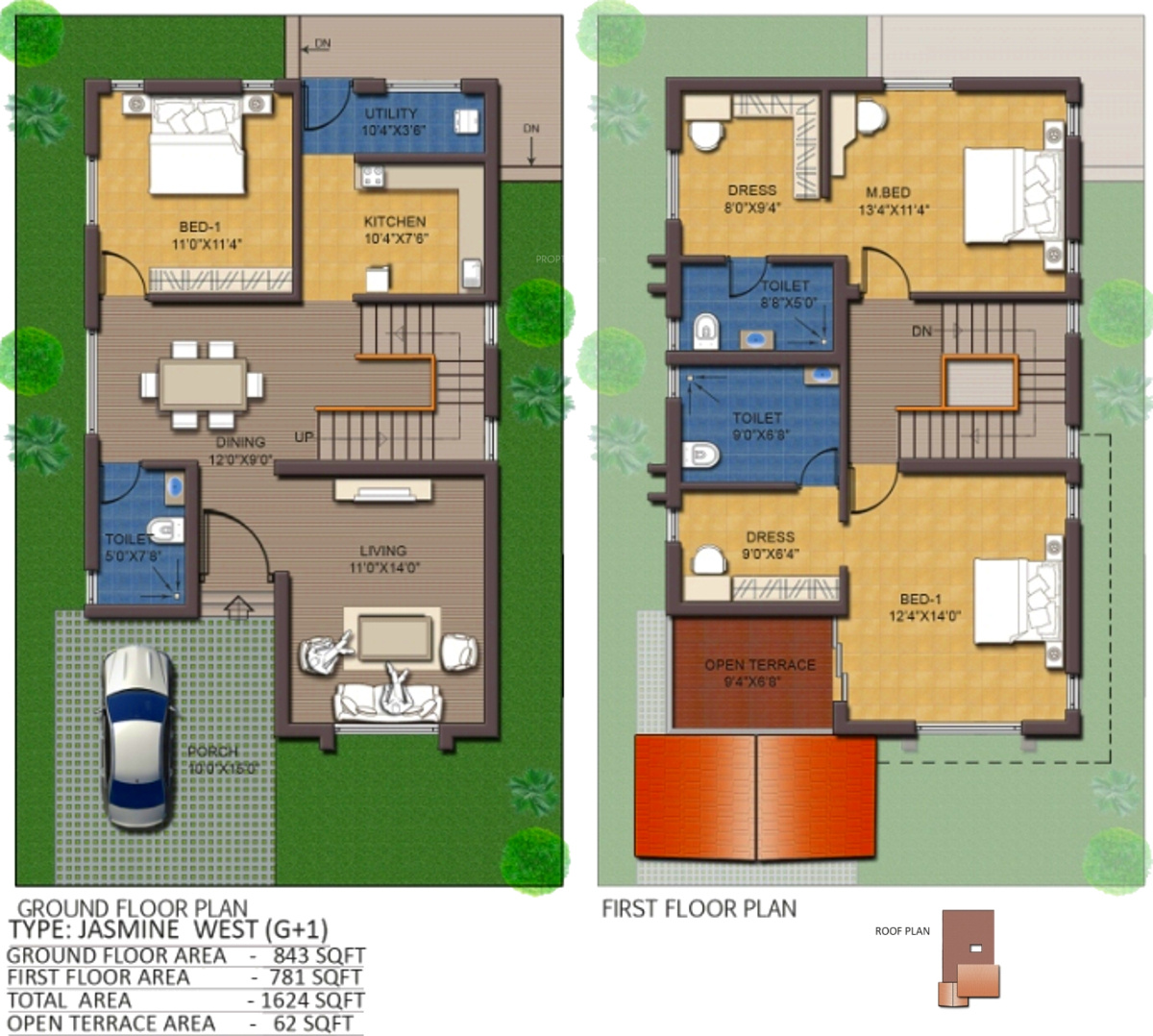 1624 sq ft 3 bhk 3t villa for sale in jain housing gardens for 12th floor apartments odessa