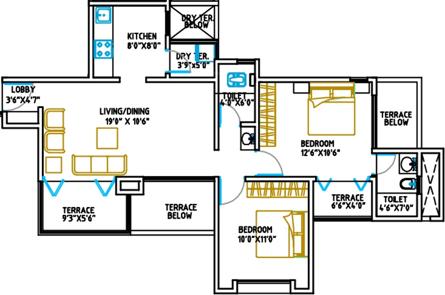 Awesome Mi Casa Floor Plan Pictures Flooring amp Area Rugs
