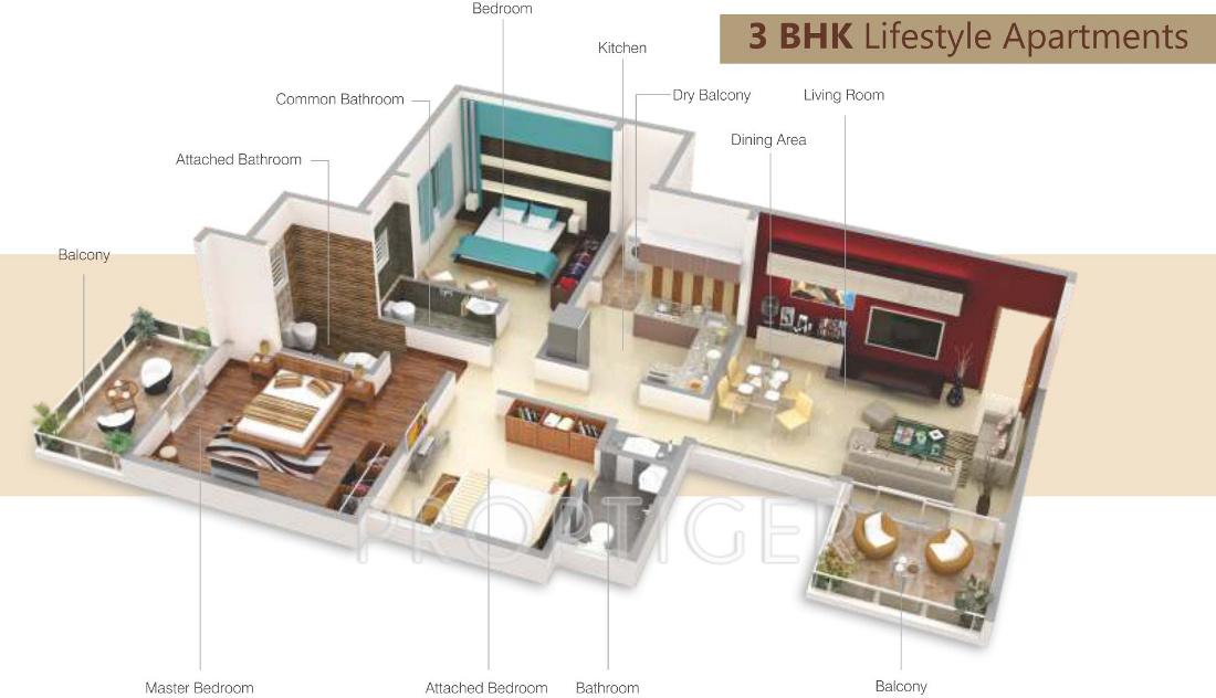 Viijcon Abanna 1BHK Apartments in Hinjewadi, Pune