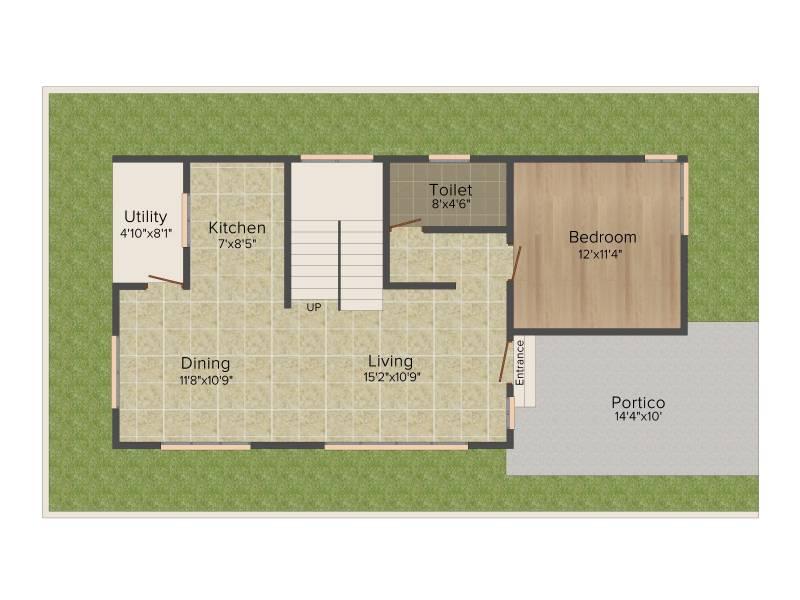 Golden Golden Homes III (3BHK+3T (1,800 sq ft) 1800 sq ft)