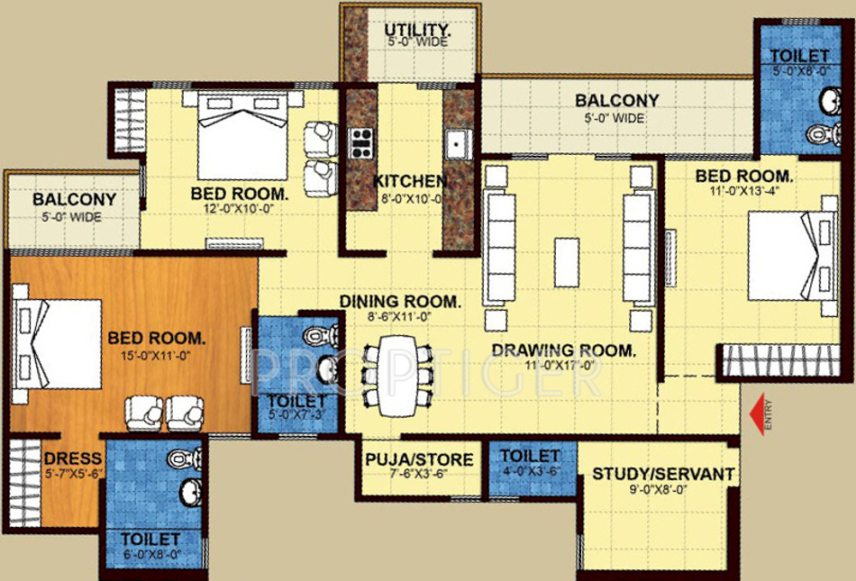 Trident Embassy in Sector 1 Noida Extension, Greater Noida - Price ...