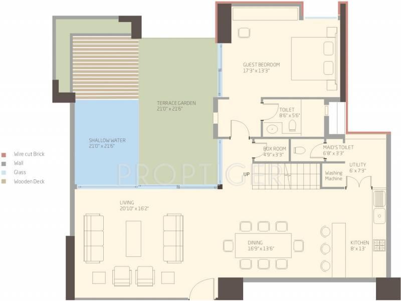 Total Environment The Magic Faraway Tree (3BHK+3T (4,235 sq ft) + Servant Room 4235 sq ft)