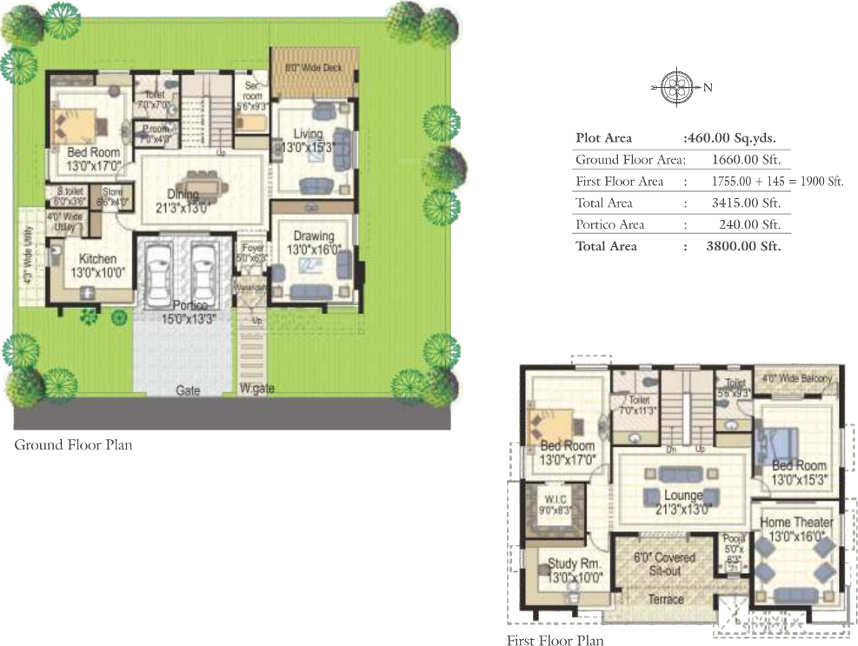 3800 Sq Ft 3 Bhk 4t Villa For Sale In Vision Avenues Pvt